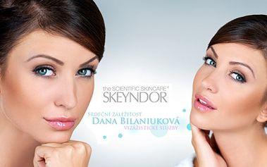 KOSMETICKÉ OŠETŘENÍ PLETI s kmenovými buňkami, kolagenem nebo kys. hyaluronovou a luxusní kosmetikou SKEYNDOR oceněnou prestižními cenami jen za 349 Kč! Navštivte krásné studio Relax a Beauty v ***hotelu Ankora!