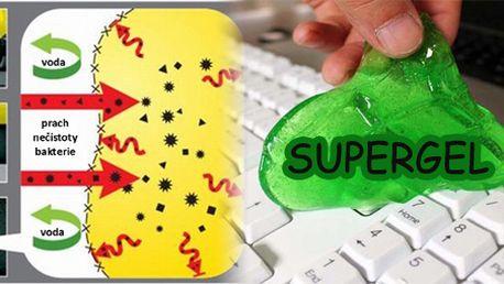 Supergel - unikátní čistící hmota za 98 Kč!