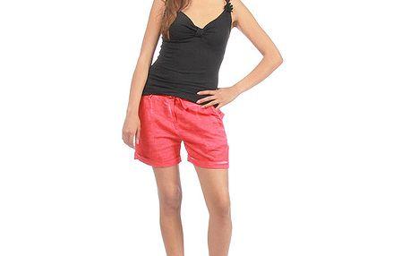 Dámske červené šortky Anabelle