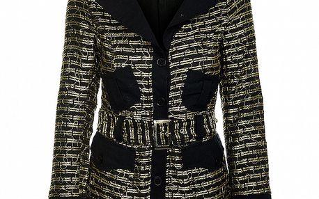 Jarní černozlatá bunda od značky Savage Culture