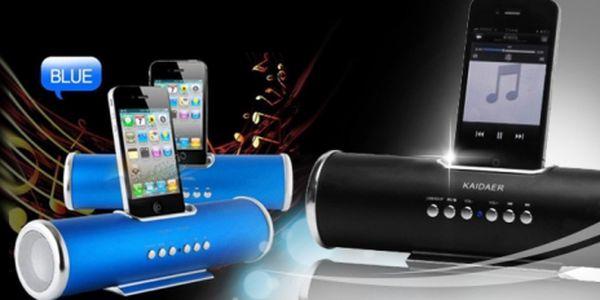 Velmi kvalitní REPRODUKTORY pro iPhone, iPod a další za jedinečných 659 Kč! Reproduktory KAIDAER jsou malých rozměrů a dobíjitelné, používat je tedy můžete kdekoli!