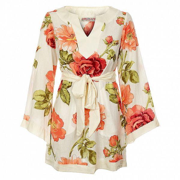 Dámské krátké šaty od Savage Culture s květovaným vzorem