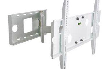 Univerzální jednoramenný otočný a sklopný držák na stěnu pro 30-54'' LED