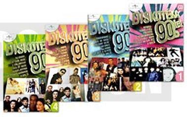 Různí - Balíček - Diskotéka 90. let, 4 CD pošetka