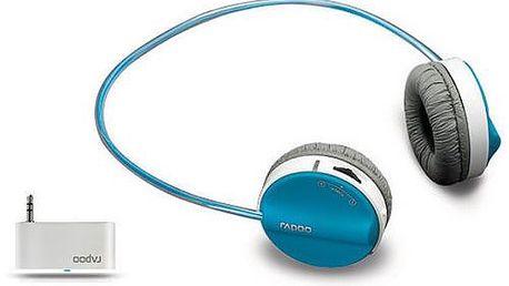 Rapoo H3070 Bezdrátová stereofonní sluchátka s mikrofonem režim duálního vstupu (Black)