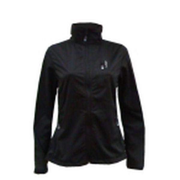 Dámská softshellová bunda se stojacím límcem LOAP jarní MADYSON černá dám.