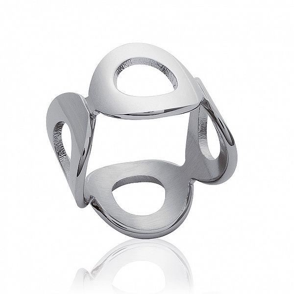 Dámsky prstienok z oceľových krúžkov La Mimossa