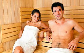 80 minut privátní sauny PRO DVA jen za 349 Kč!