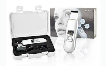 Kosmetický ultrazvukový čistič pleti se slevou 60%!!! Pomocí ultrazvukového čističe obnovíte elasticidu a zašedlost vaší pokožky, která se tak stane jemnější a svěží!