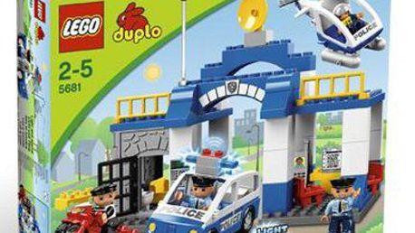LEGO DUPLO 5681 Policejní stanice. Zloděj prchá z vězení na motorce!