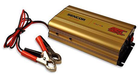 Nabíječka akumulátorů Sencor SCA CHG1212 vybavena ochranou proti zkratování, nadproudu a přehřátí.