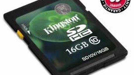 Paměťová karta Kingston SDHC Class 10 16 GB