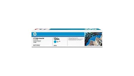 Toner HP CE311A, 1K stran, modrá