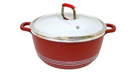 Hrnec Provence 270306, 24cm - řada nádobí s keramickým vnitřkem a silikonovými doplňky