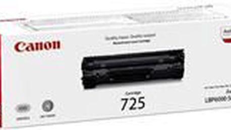 Toner černé barvy určený do tiskáren společnosti Canon CRG-725 černý