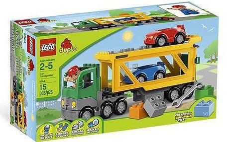 Stavebnice Lego DUPLO Přeprava automobilů 5684, doporučený věk od 2 let