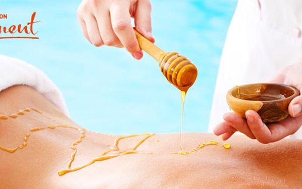 60minutová jarní detoxikace medovou masáží