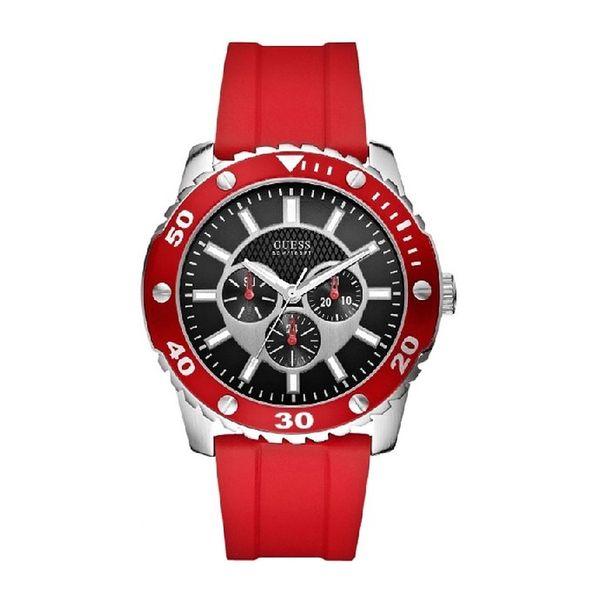 Pánské hodinky Guess červené