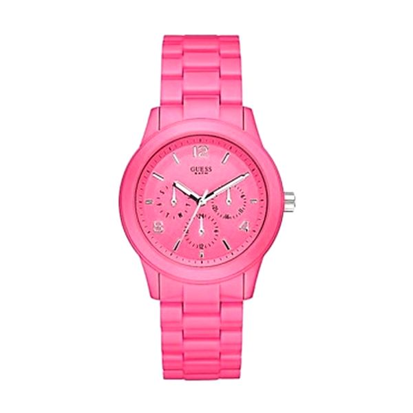 Dámské hodinky Guess růžové