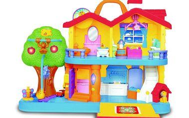 Alltoys Můj první domeček. Zábavnou formou se děti dozví o událostech v domácnosti.