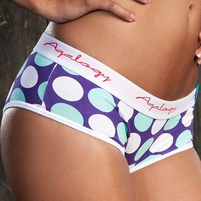 Roztomilé dámské kalhotky Aqalogy Deep Lagune