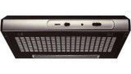 Designový odsavač par ZANUSSI ZHT 630 X, 1-stupňové osvětlení, maximální výkon