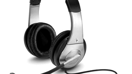 HP Premium Digital Headset, sterofonní sluchátka s mikrofonem, USB NOVÉ ROZBALENÉ