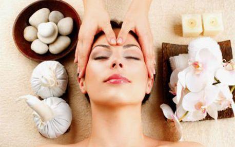 60minutové luxusní ošetření pleti nebo masáž obličeje!