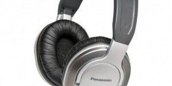 Pohodlná sluchátka PANASONIC RP-HT360E-S pro příjemné chvíle s kvalitní hudbou.