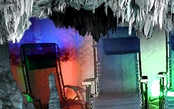 1 x 45 min. vstup do solné jeskyně Alafia v Ostravě
