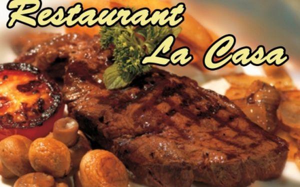POPRVÉ! LA CASA RESTAURANT je v jedinečném italském stylu!! Kvalitní suroviny zpracované skvělým šéfkuchařem! Přijďte ochutnat pravou chuť Itálie do restaurace na P-3!