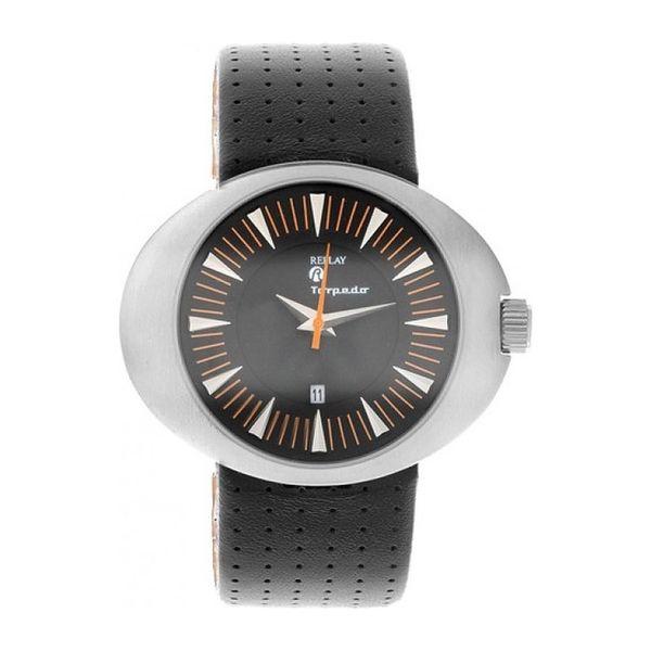 Dámské hodinky Replay stříbrné černý pásek
