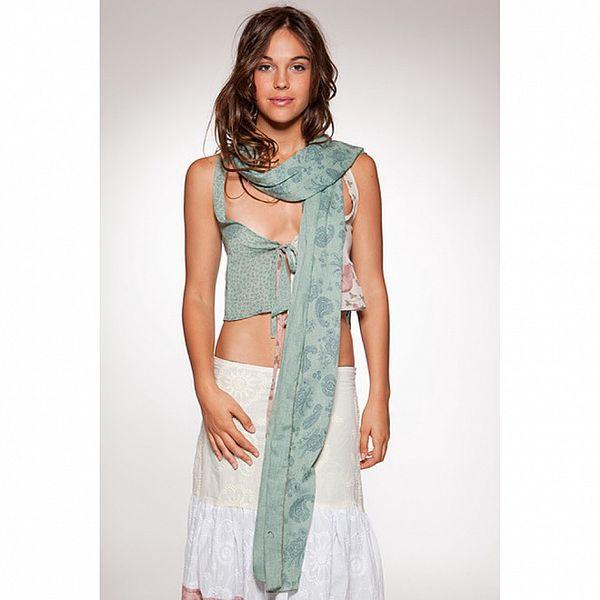 Dámský šátek Ian Mosh s květinami