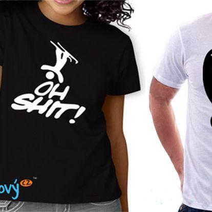Cool trička nejen pro sportovce! Pánské či dámské, 100% bavlna, vysoká kvalita!