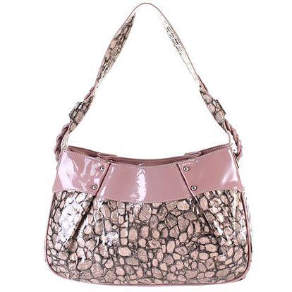 Růžová kabelka (Laura Biagiotti)
