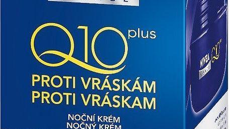 Nivea Visage Q10 Noční krém 50 ml - Viditelně redukuje vrásky a regeneruje pleť během noci