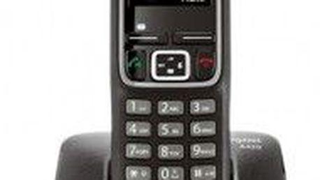 Bezdrátový telefon kvalitní konstrukce Siemens Gigaset A420
