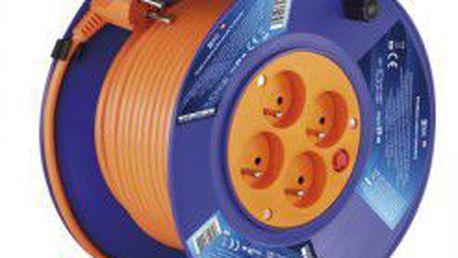 Prodlužovací přívod - buben 4 zásuvky 25m