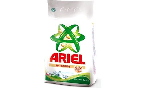 Ariel Mountain Spring 5 kg - Obsahuje 7 technologií v jediném pracím cyklu