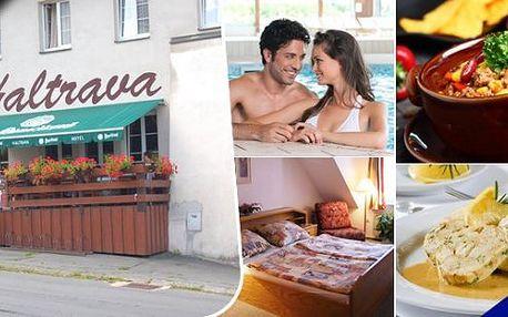 Romantika v cyklo oblasti Českého a Bavorského lesa -pobyt pro 2 osoby na 3 dny ve 3* hotelu Haltrava v Klenčí pod Čerchovem se snídaněmi na pokoj. Polopenze, talíř grilovaného masa, salátová mísa, láhev vína a aquapark v ceně!Projeďte se na kolech Chodskem!