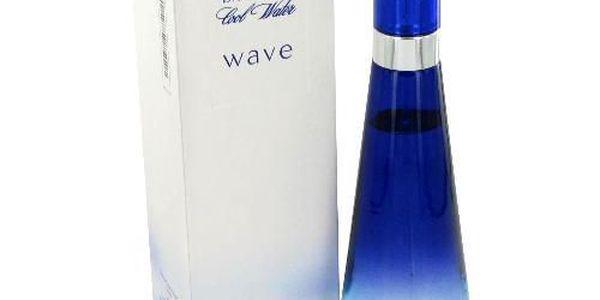Davidoff Cool Water Wave toaletní voda pro ženy 50ml - připomíná křišťálově čistou vodu
