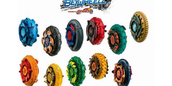 Beyblade - Beywheelz základní kotouč. Zábavná hra pro více lidí.