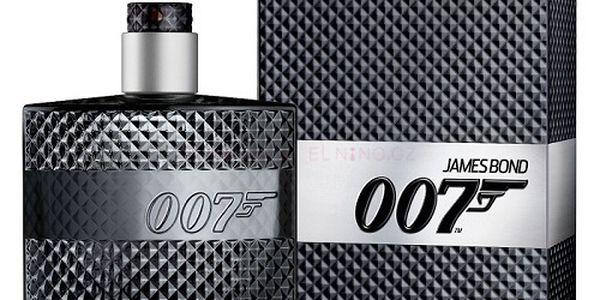 Pánská toaletní voda James Bond 007 - Bohatá kompozice s tóny dřeva, ovoce a koření.