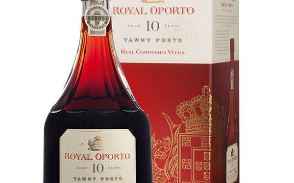 Royal oporto 10 years aged tawny 0.75l. Portugalské portské víno s obsahem alkoholu 20 %.