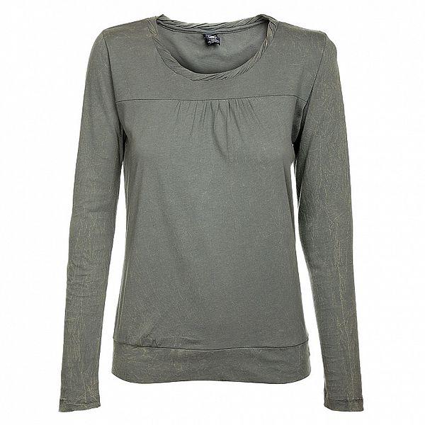 Dámske svetlo šedé tričko Timeout