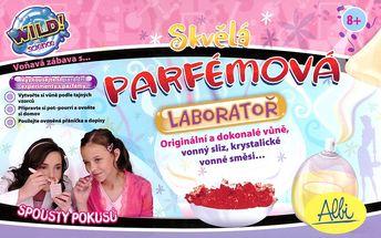 Kreativní sada Parfémová laboratoř, ALBI - Vyzkoušejte si parádní experimenty s parfémy!