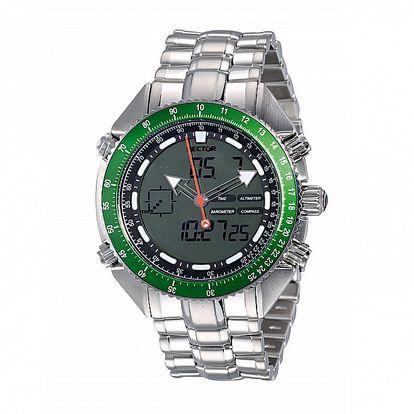 Pánské ocelové hodinky Sector