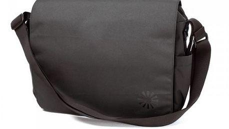 Taška na kočárek BRIO - poštovní typ, tmavá šedá