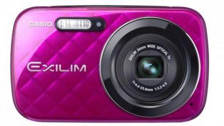 Fotoaparát Casio EX N10 VP - 16,1 Mpix, 5x zoom - fialový