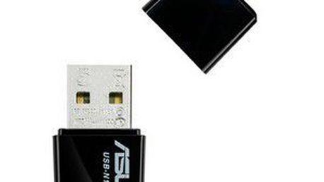 Výkonná externí Wi-Fi karta s podporou standardů 802.11 ASUS USB-N10